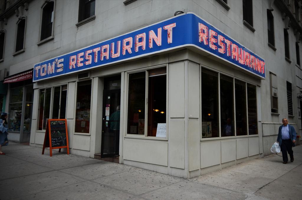 Tom's Restaurant - Nueva York de película