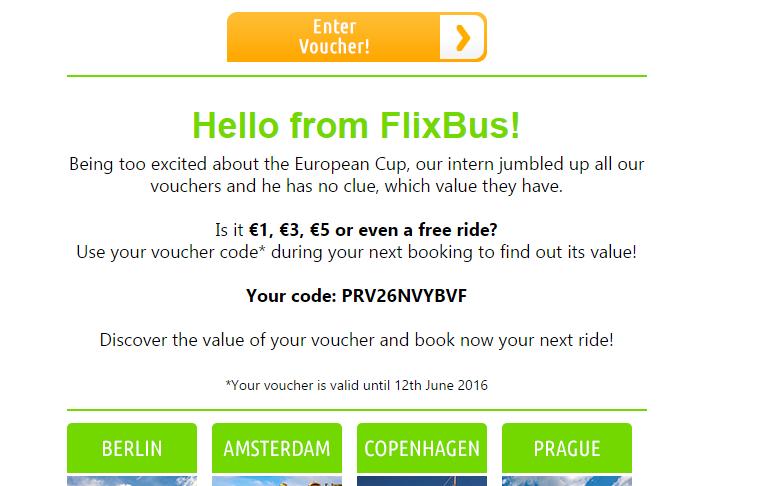 Descuento para viajar con Flixbus | Ready To Go Trips